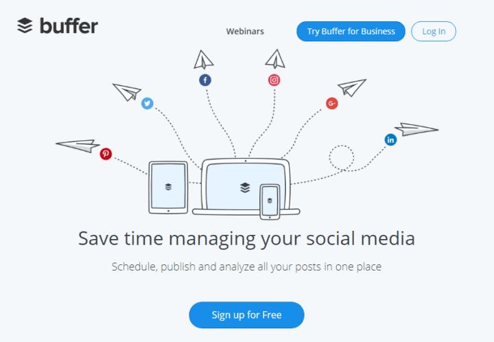 buffer twitter tools