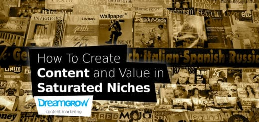 content in saturated niches