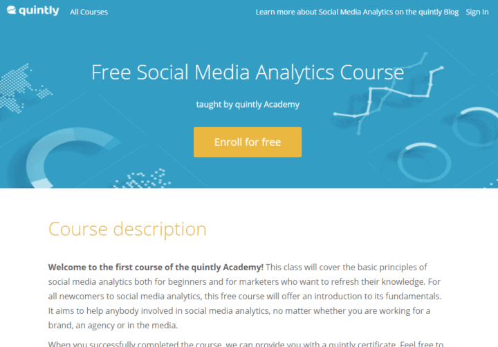 12 Free Social Media Marketing Courses To Boost Your Skills Now