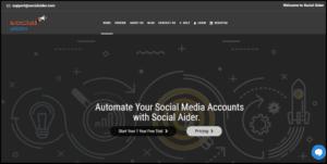 Social aider social media tool