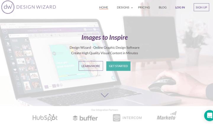 design wizard visual content tools