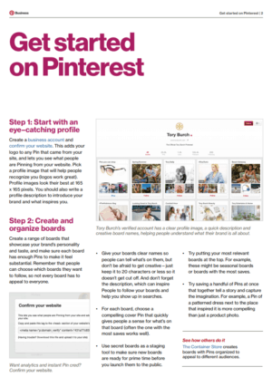 A Beginners Guide To Pinterest Pdf Download Dreamgrow 2018