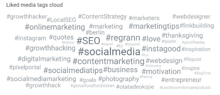 instagram mass liking hashtags