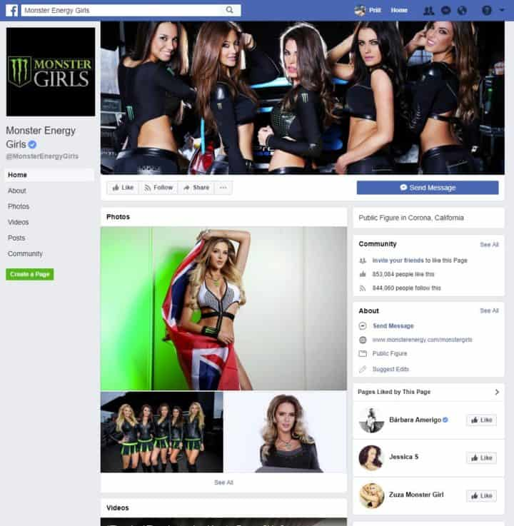 facebook page cover image monster girls