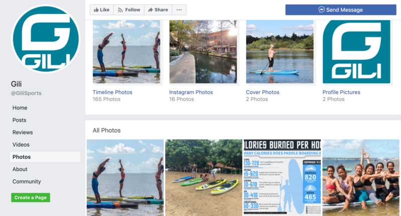 gili sports facebook page