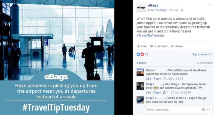 facebook campaings traveltiptuesday