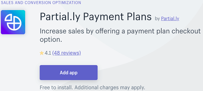 Best Payment Plan App - Partial.ly