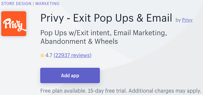 Best Pop Up Plugins - privy