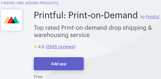 Best Print On Demand App - Printful