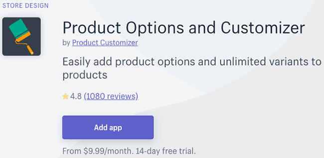 Best Product Personalization Apps - product customizer
