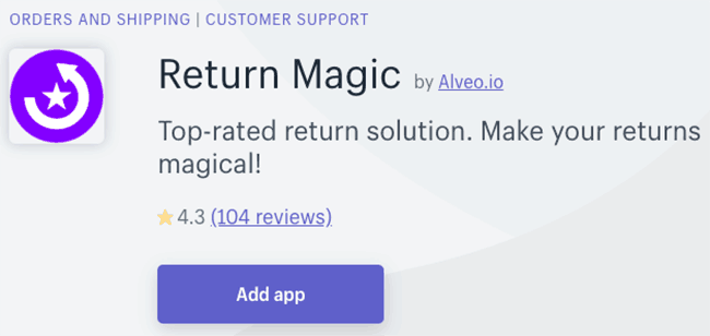 Best Return Management App - Return Magic
