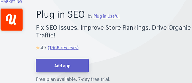 Best SEO Apps for Shopify - Plugin SEO