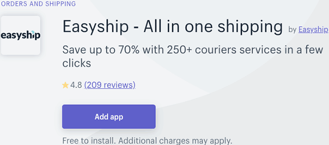 Best Shipping Management Apps - Easyship