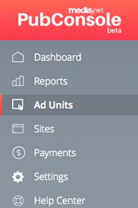 media.net ad units