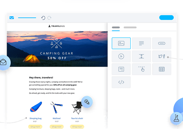 getresponse email editor user experience
