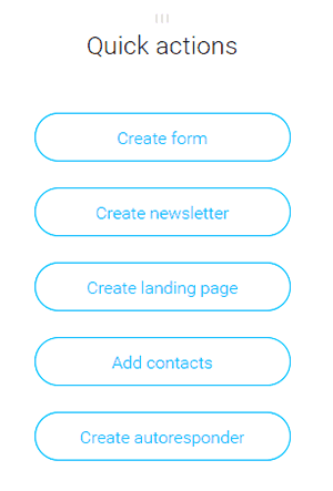 quick email builder