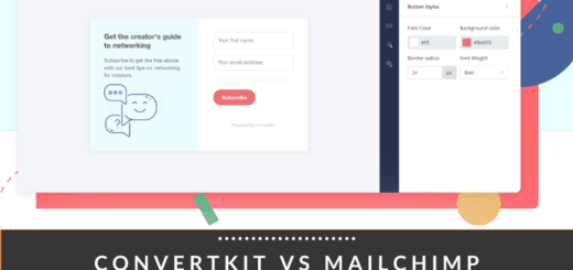 convertkit vs mailchimp reviews