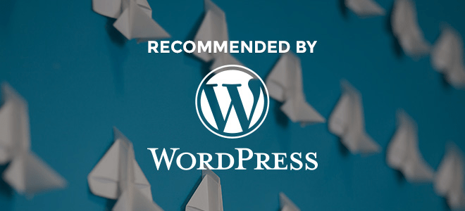 siteground is recommended by wordpress