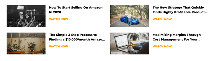 AMZScout Webinars and Courses