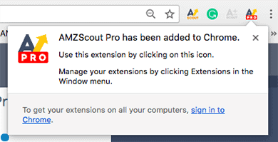 amzscout chrome extension