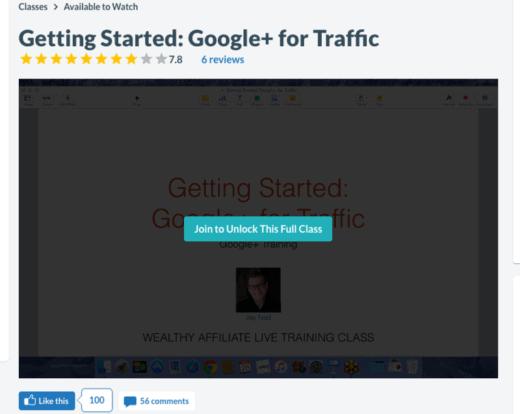 Google+ for Traffic