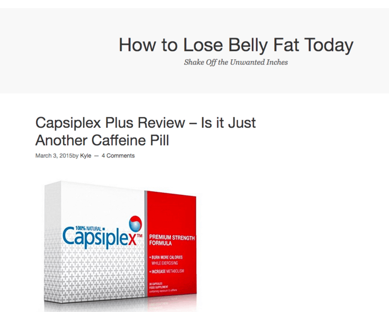 How to lose belly fat today