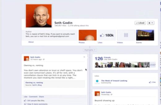 Seth Godin Facebook
