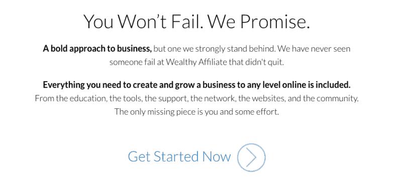 You won't fail
