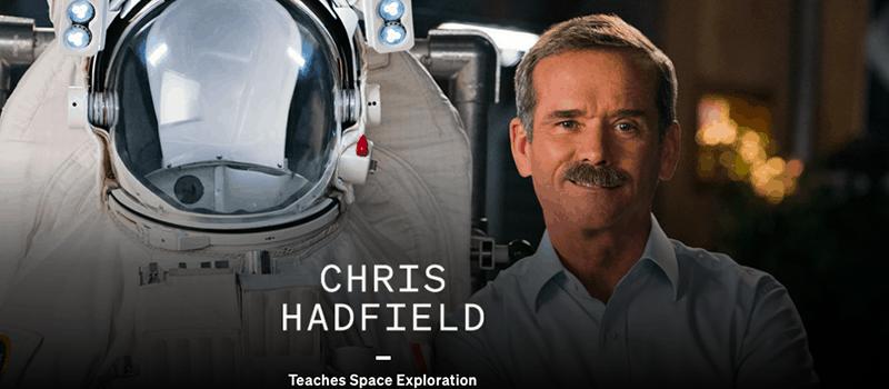 chris hadfield masterclass