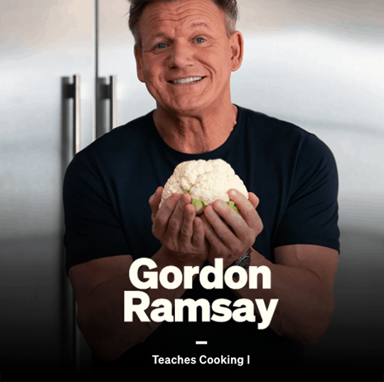 gordon ramsey cooking masterclass review