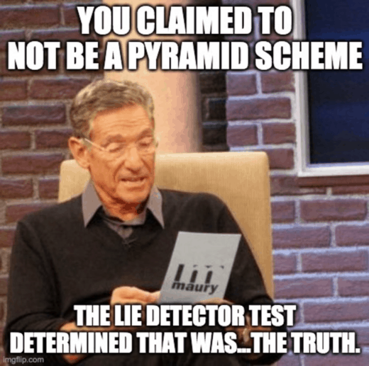 Wealthy Affiliate is not pyramid scheme