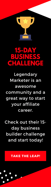 starting with affiliate marketing - business builder challenge