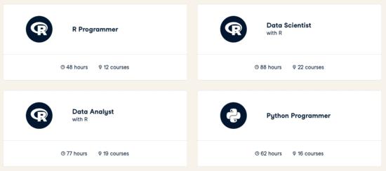 DataCamp-Career Tracks