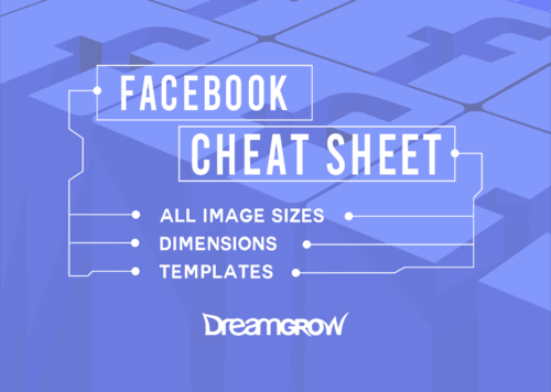 Facebook image sizes and templates cheat sheeta