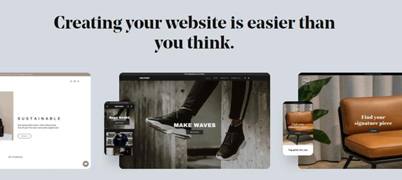 GoDaddy Website Features