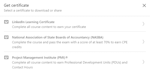 """The spoils of completing the """"Learning Salesforce"""" course"""