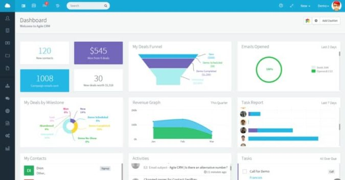 Agile CRM - The Best Cheap Alternative to Infusionsoft