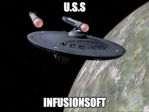 Infusionsoft is a supermassive black hole disguised as a CRM software