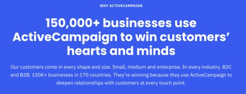 Why ActiveCampaign