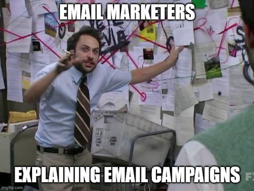 Be sure your emails and content are relevant to your customer base