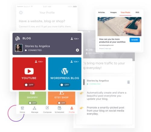 Crowdfire - The Best Instagram Content Curation Tool