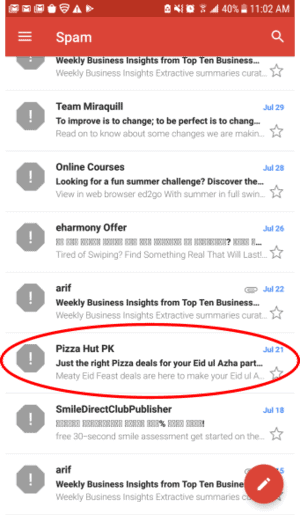 Even the best of brands can find their emails going to spam