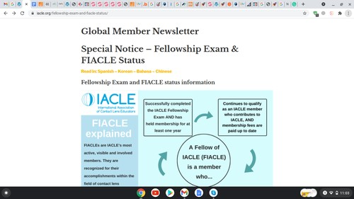 Global Member Newsletter from IACLE