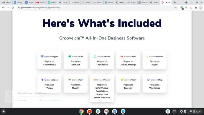 Groove -All in One Business Software