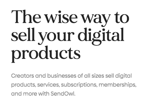 SendOwl  is the best cheap SamCart Alternative