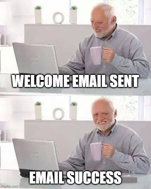 Sending Welcome email immediately after they subscribe gets very high open rate