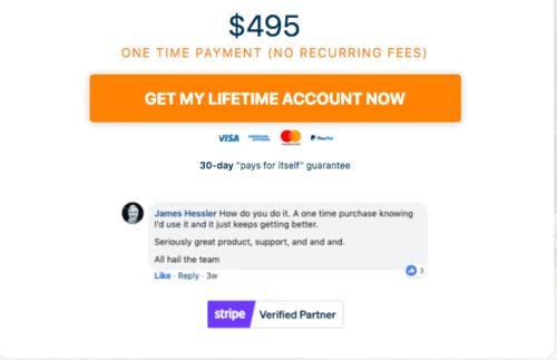 ThriveCart has cheap lifetime deal